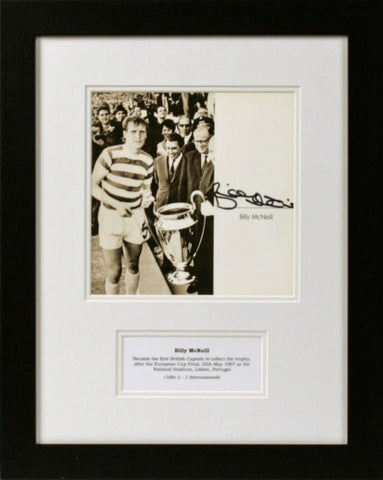 Billy McNeil Signed Photograph