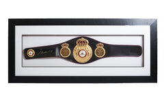 Muhammad Ali Signed Commemorative WBA Belt