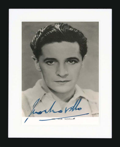 Ivor Novello Signed Vintage Photograph