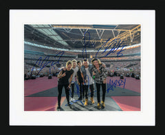 "One Direction 12 x 8"" Signed Photograph"