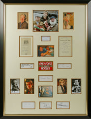 Only Fools and Horses Original Signatures of the Cast