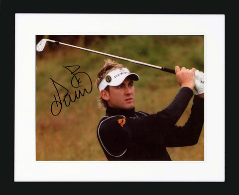"Ian Poulter 10 x 8""  Signed Photograph"