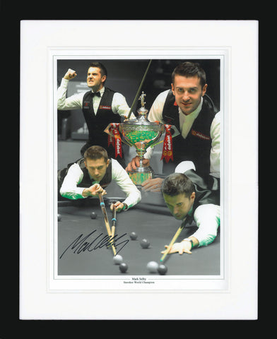 "Mark Selby 12 x 16"" Signed Photograph"