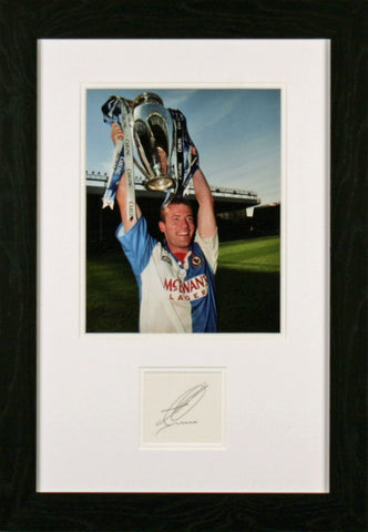 Alan Shearer Original Signature