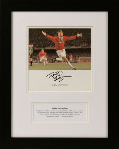 Teddy Sheringham Signed Photograph