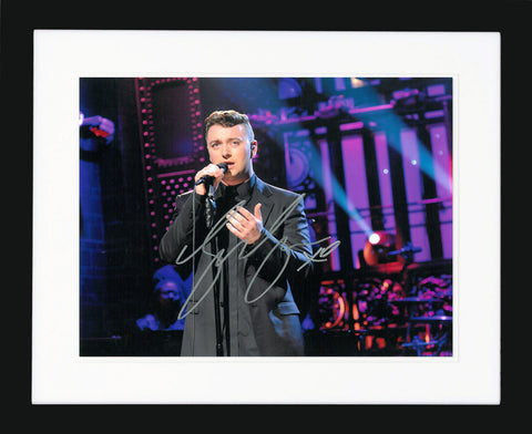 "Sam Smith 10 x 8"" Signed Photograph"