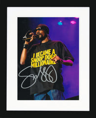 "Snoop Dogg 8 x 10"" Signed Photograph"