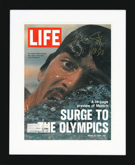 "Mark Spitz Signed ""Life"" magazine"