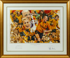 Wolverhampton Wanderers Greats Limited Edition Print