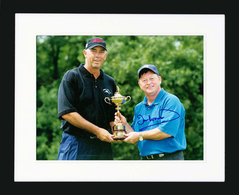 "Ian Woosnam 11 x 14"" Signed Photograph"