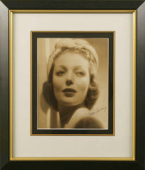Loretta Young Signed Vintage Photograph