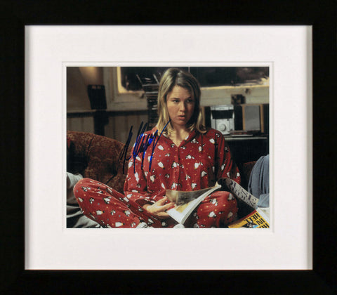 "Renee Zellweger 10 x 8"" signed Photograph"