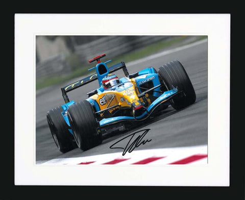 "Fernando Alonso 14 x 11"" Signed Photograph"