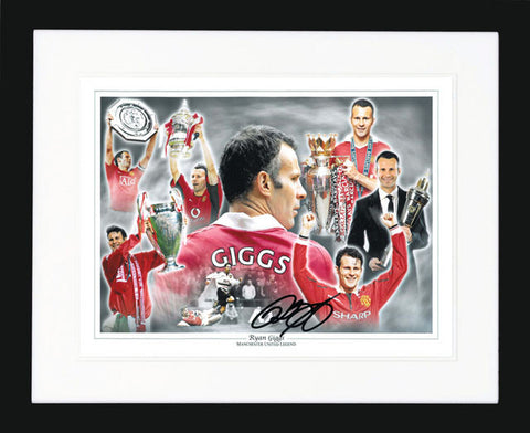 "Ryan Giggs 16 x 12"" Signed Photograph"