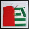 Henrik Larsson and Roy Keane - Celtic and Man Utd Signed Shirt
