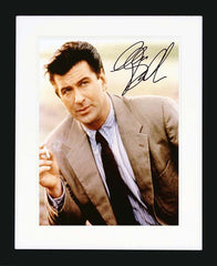 Alec Baldwin Signed Photograph