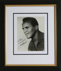 "Harry Belafonte 8 x 10"" Signed Photograph"