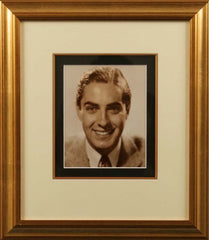 Tyrone Power Vintage Signed Photograph