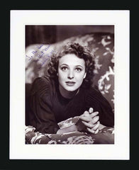 Laraine Day Signed Vintage Photograph