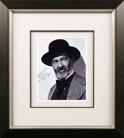 George 'Gabby' Hayes Signed Vintage Photograph