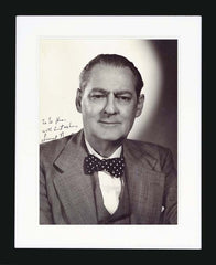 Lionel Barrymore Signed Vintage Photograph