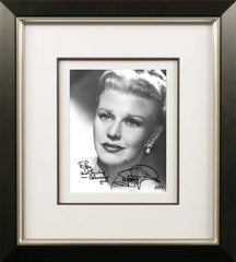 Ginger Rogers Signed Vintage Photograph