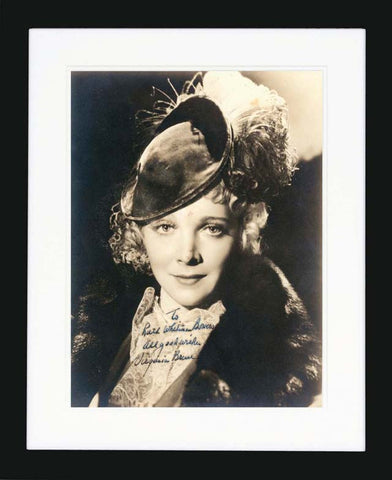 Virginia Bruce Signed Vintage Photograph