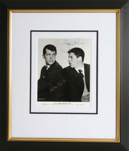 "Dean Martin and Jerry Lewis 8 x 10"" Signed Photograph"