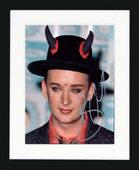 "Boy George 8 x 10"" Signed Photograph"