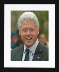 "Bill Clinton 8 x 10"" Signed Photograph"
