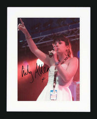 "Lily Allen 8 x 10"" Signed Photograph"