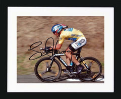 "Lance Armstrong 10 x 8"" Signed Photgraph"