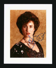 Andie MacDowell Signed Photgraph