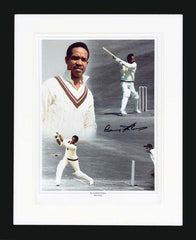 "Garfield Sobers 12 x 16"" Signed Photograph"