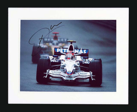 "Nick Heidfeld 12 x 8"" Signed photograph"