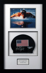 Michael Phelps Signed Swim Cap