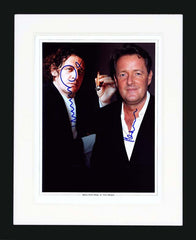 "Marco Pierre White & Piers Morgan 12 x 14"" Signed Photograph"
