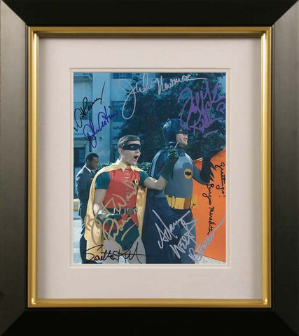 Adam West and Burt Ward Signed Photograph