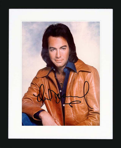 "Neil Diamond 8 x 10"" Signed Photgraph"