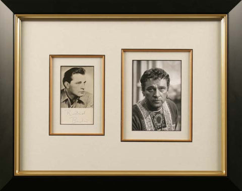 Richard Burton Signed Photograph