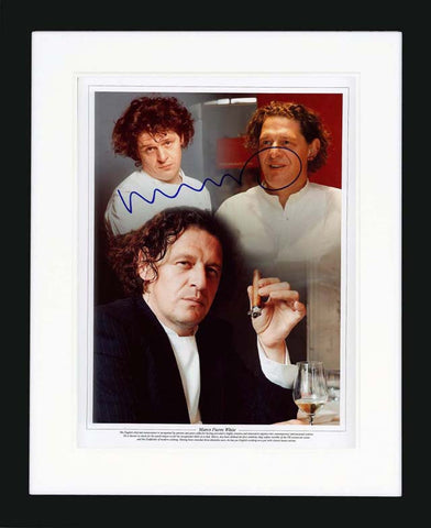 Marco Pierre White Signed Photograph