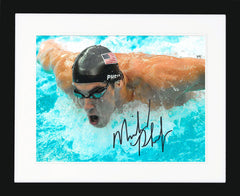 "Michael Phelps 10 x 8"" Signed Photograph"
