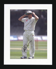 "Andrew Strauss 8 x 12"" Signed Photograph"
