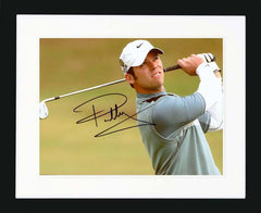"Paul Casey 10 x 8"" Signed photograph"