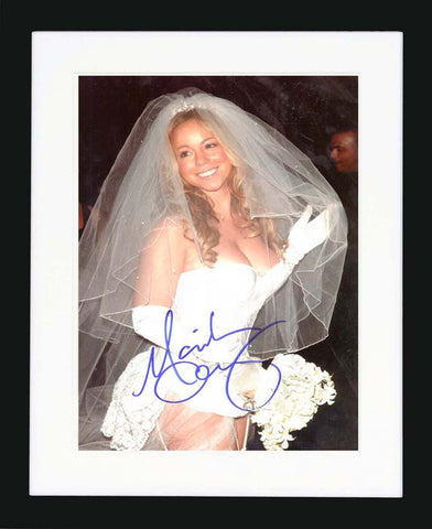 "Mariah Carey 8 x 10"" Signed Photograph"