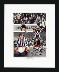 "Malcolm Macdonald 12 x 16"" Signed Photograph"
