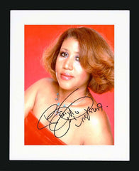 "Aretha Franklin 8 x 10"" Signed Photograph"