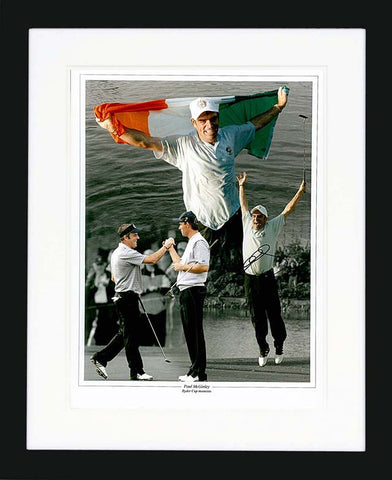 "Paul McGinley 12 x 16"" Signed Photograph"