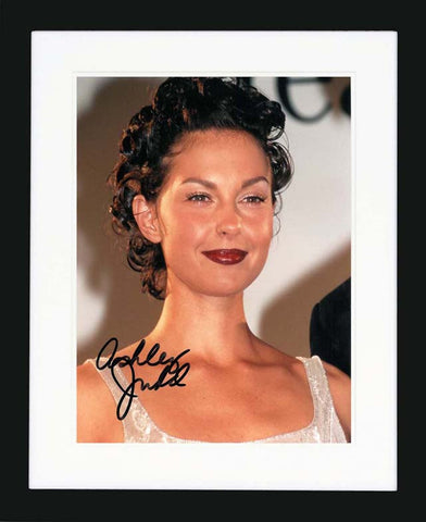 "Ashley Judd 8 x 10"" Signed Photograph"