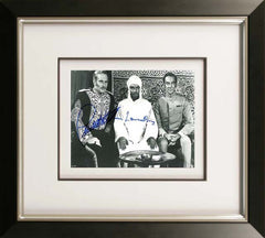 "Charlton Heston and Laurence Olivier 10 x 8"" Signed Photograph"